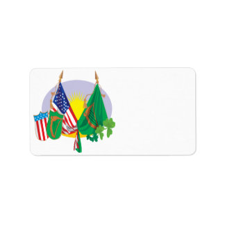 Irish American Pride Address Label