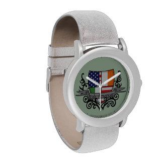 Irish-American Shield Flag Watches