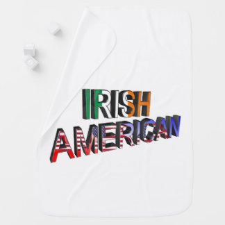 Irish-American Text for Baby-Blanket Pramblankets
