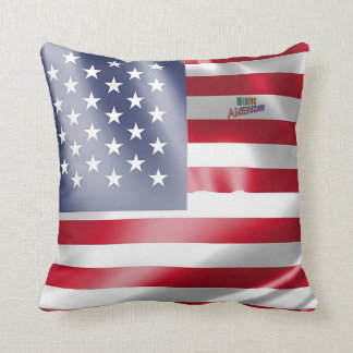 Irish-American Text for Throw-Cushion Throw Pillow