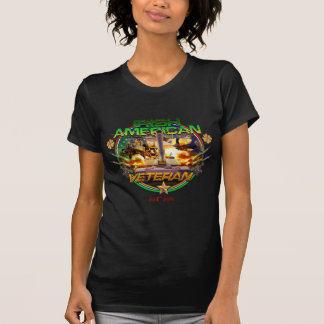 Irish American Veteran Pride T-Shirt