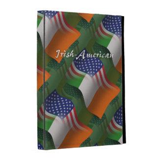 Irish-American Waving Flag iPad Cases