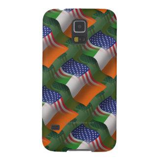 Irish-American Waving Flag Samsung Galaxy Nexus Case