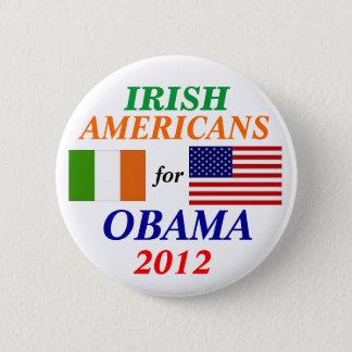 Irish americans for Obama 6 Cm Round Badge