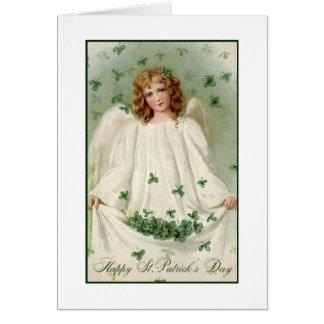 Irish Angel Card