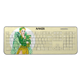 IRISH ANGEL Custom Wireless Keyboard
