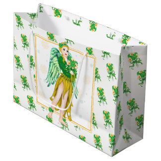 IRISH ANGEL GIFT BAG LARGE
