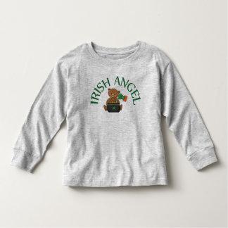 Irish Angel Teddy Bear Toddler T-Shirt