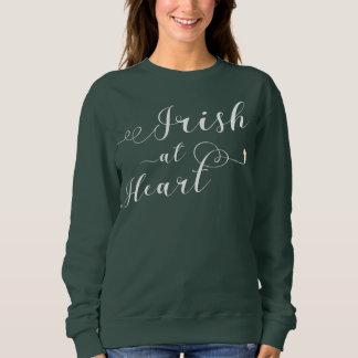 Irish At Heart Sweatshirt, Ireland Sweatshirt