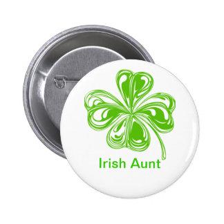 Irish Aunt 6 Cm Round Badge