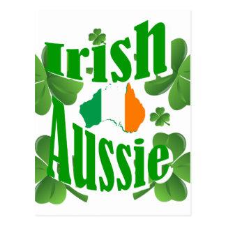 Irish aussie postcard