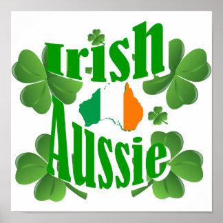 Irish aussie print