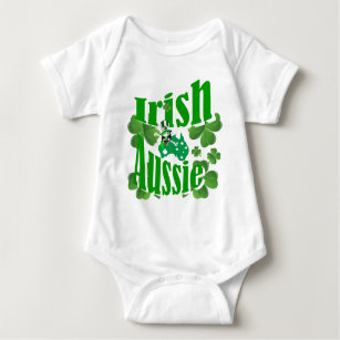 Hug Me For Luck Irish Baby Vest Bodysuit Babygrow Ireland Baby Irish Gifts