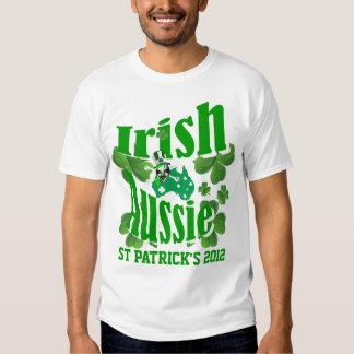 Irish Aussie St Patricks day Shirts