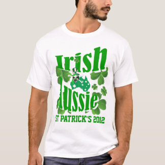 Irish Aussie St Patricks day T-Shirt