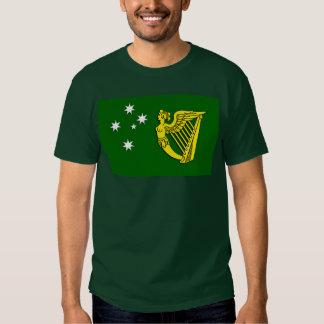 Irish Australia Flag T Shirts