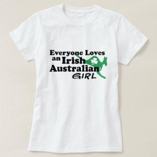 Irish Australian Girl T-Shirt