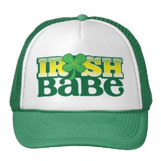 IRISH BABE! cute with a shamrock Cap