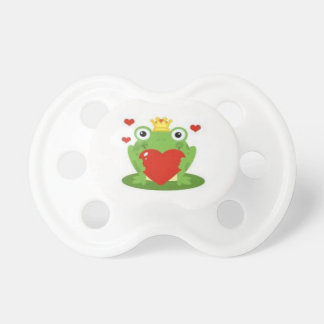IRISH BABY PACIFIER BINKY IRISH SO CUTE FROG