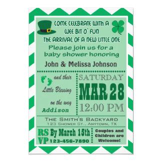 Irish Baby Shower Invitation