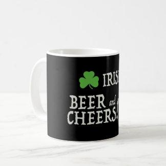 Irish Beer and Cheers Mug