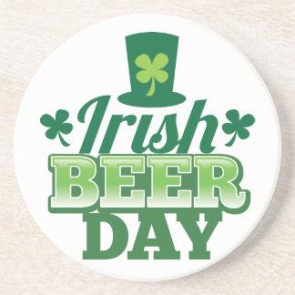 Irish BEER day Beverage Coaster