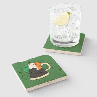 Irish Beer Stone Coaster