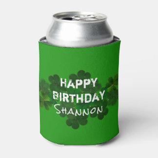 Irish Birthday Personalised Drink Coozie
