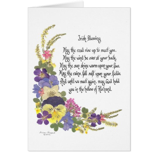 Irish Blessing Card