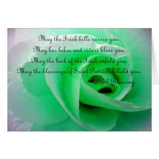 Irish Blessing Greeting Cards
