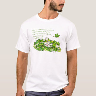 Irish Blessing Cute St. Patricks Day T Shirts
