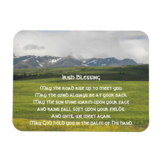 Irish Blessing Green Valley Photo Magnet