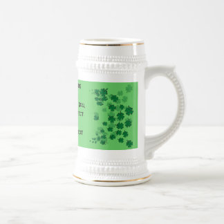 Irish Blessing Mug-May neighbours respect you Beer Stein