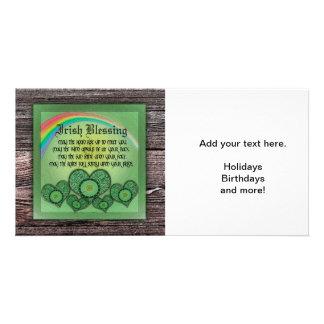 Irish Blessing Photo Card