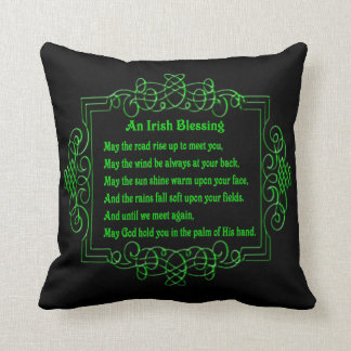 Irish Blessing Reversible Pillow
