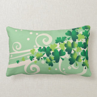 Irish Blessing Shamrock Pillow