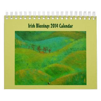 Irish Blessings 2014 Wall Calendars