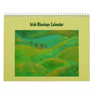 Irish Blessings for the year Calendar