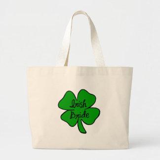 Irish Bride Large Tote Bag