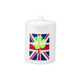 Irish British Flag Shamrock Clover St. Patrick UK
