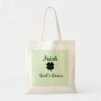 Irish by God's Grace Tote Bag