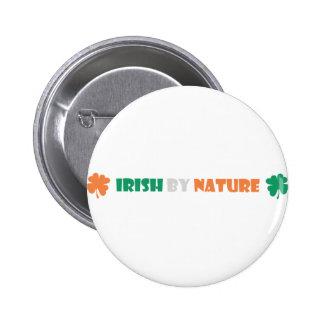 irish by nature pin