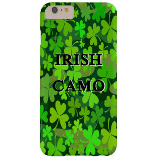 Irish Camo Barely There iPhone 6 Plus Case