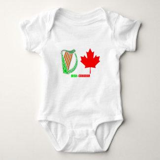 Irish-Canadian image Baby-Jersey-Bodysuit-White Baby Bodysuit