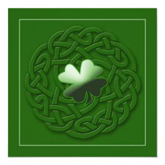 Irish card/Invitation - Personalize IT 13 Cm X 13 Cm Square Invitation Card
