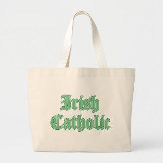 Irish Catholic Jumbo Tote Bag