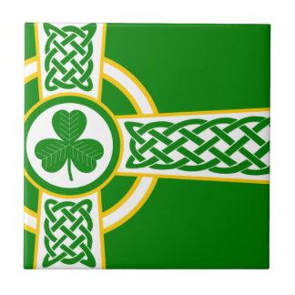 Irish_Celtic_Cross Ceramic Tile