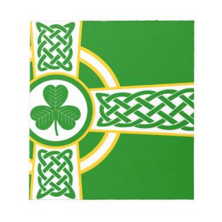 Irish_Celtic_Cross Notepad