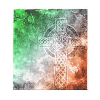 Irish Celtic Cross Notepad