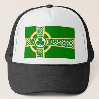 Irish_Celtic_Cross Trucker Hat